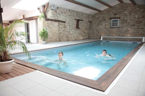 Gite avec piscine intérieure