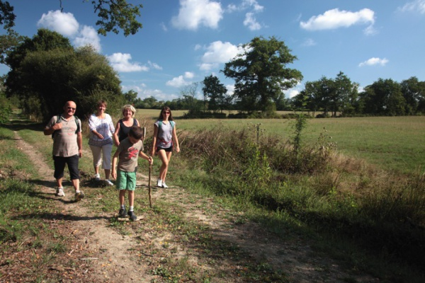 Gite avec sentier pédestre en Vendée