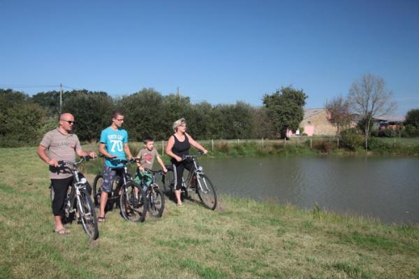 Gite avec accueil pour les vélos