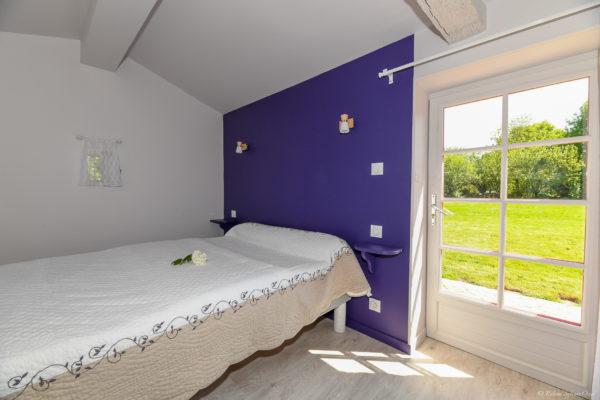 2ème chambre avec vue sur la nature